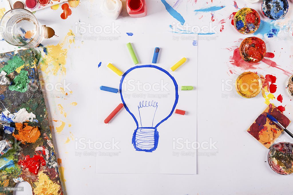 Idea concept stock photo