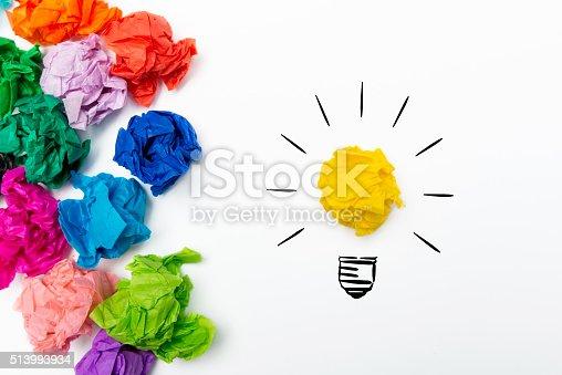 istock Idea concept 513993934