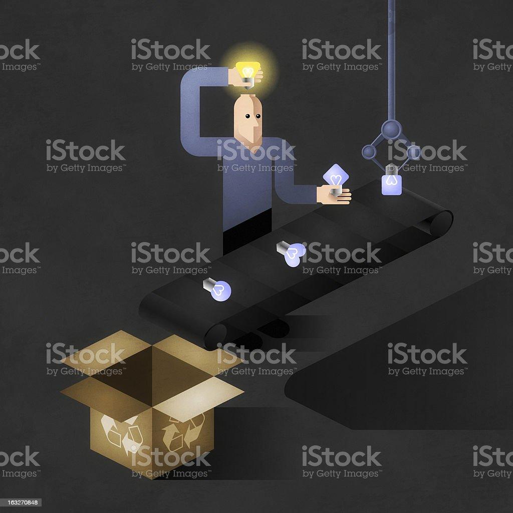 Idea Finder royalty-free stock photo