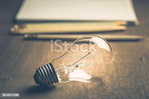 istock Idea For Writing 804644396