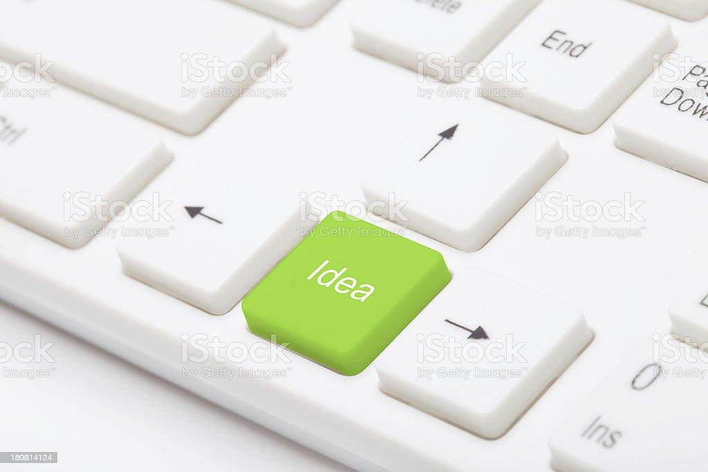 idea key royalty-free stock photo