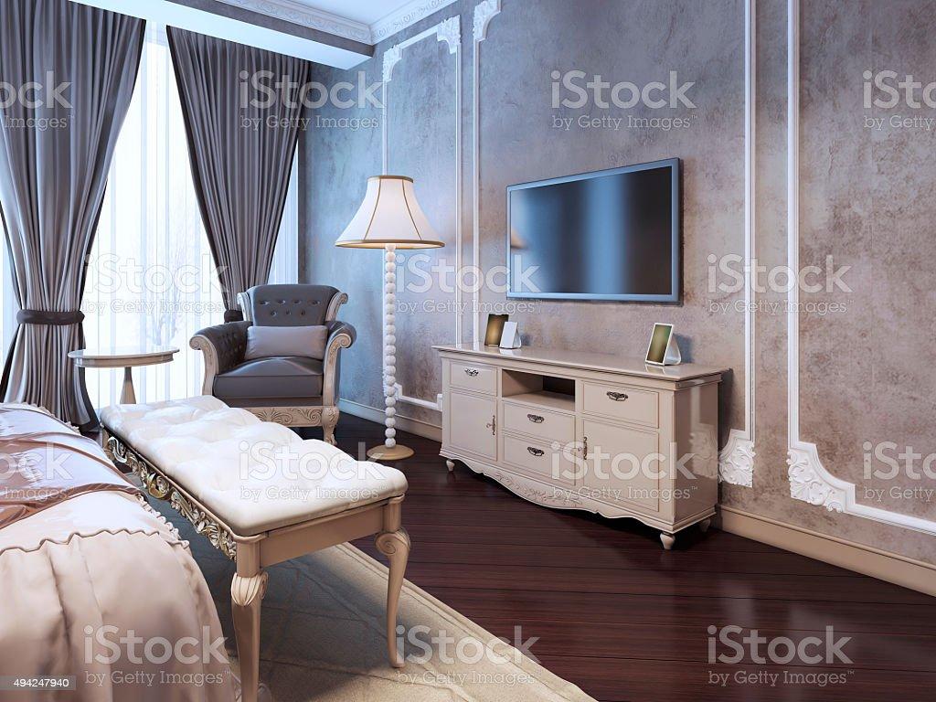 Idea Of Decor Luxury Bedroom Stock Photo Download Image Now Istock