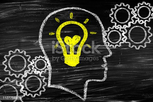 istock Idea or solution concept 1127756976