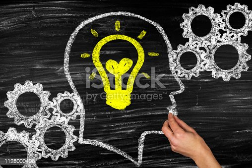 istock Idea or solution concept 1128000496