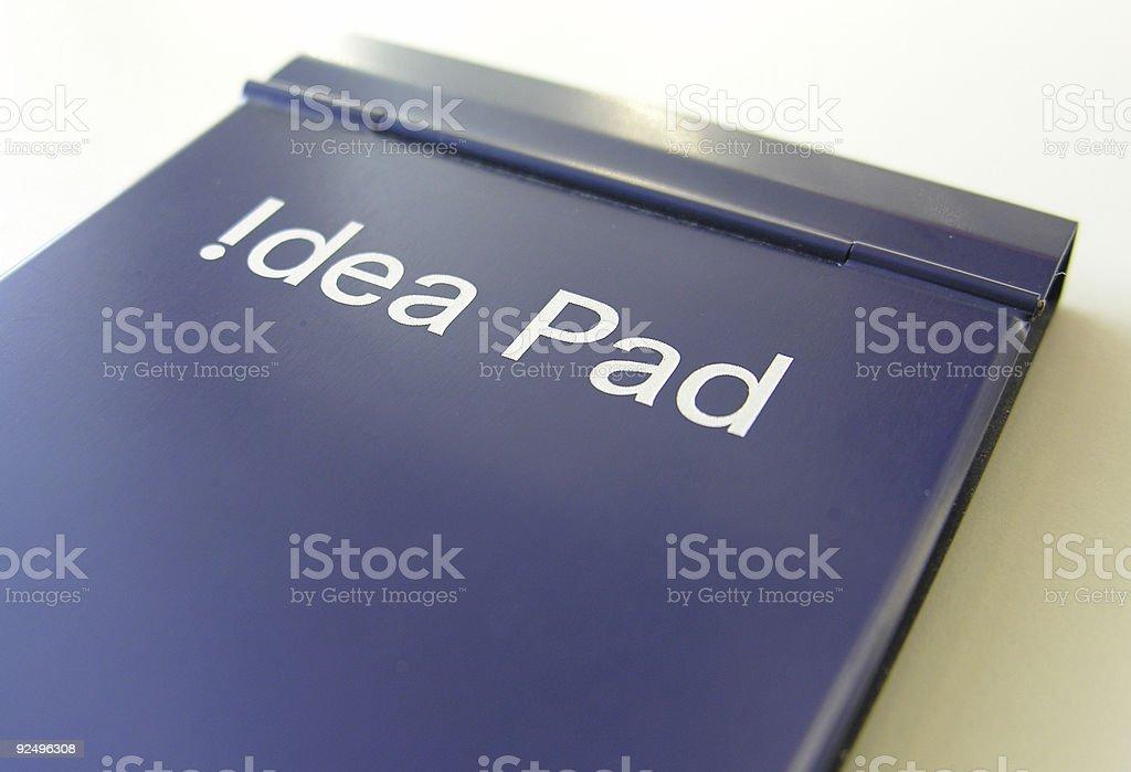 idea pad royalty-free stock photo