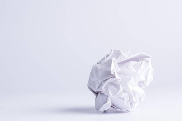 fikir kağıt stok fotoğrafı