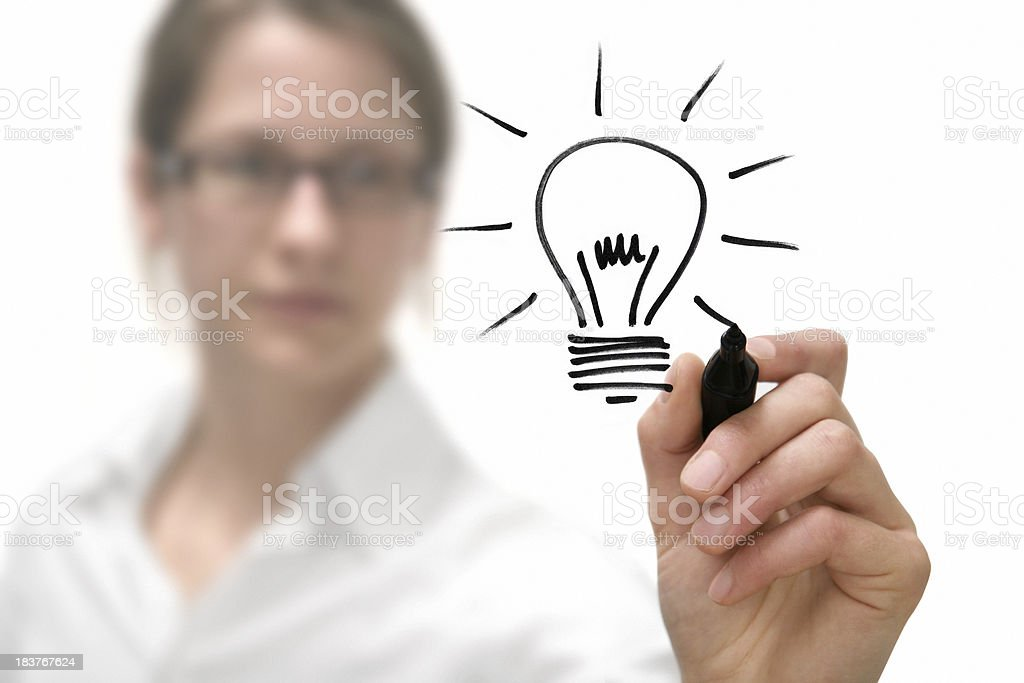 Idea - Royalty-free Adult Stock Photo