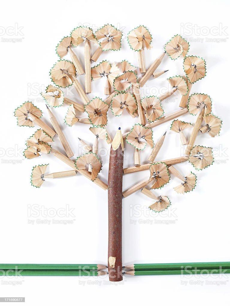 Idea Tree stock photo