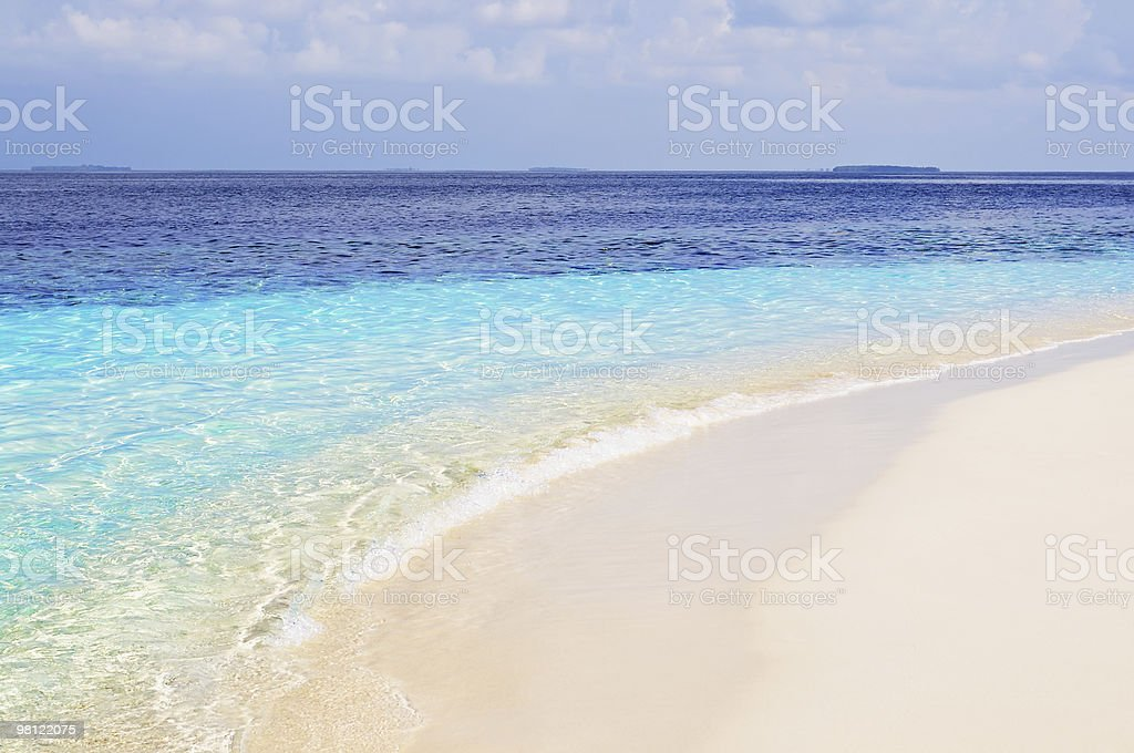 Ideal Beach royalty-free stock photo