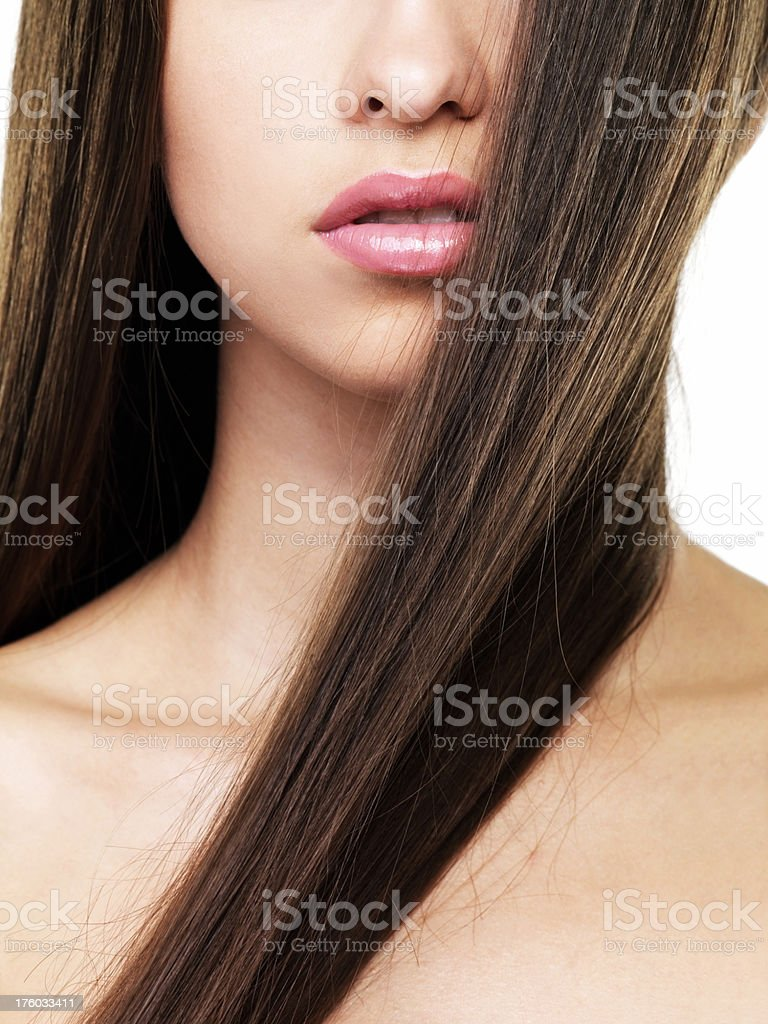 Ideal beauty, clear perfection stock photo