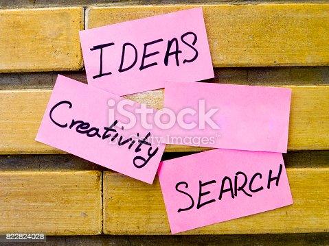 istock Ideas , Creativity , Search 822824028