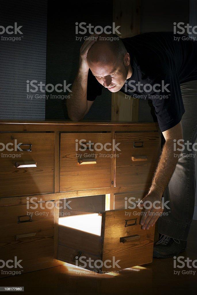 Ideas drawer royalty-free stock photo