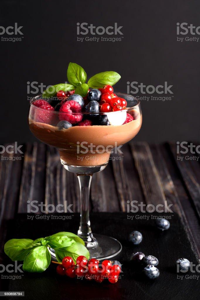 Ideen Für Eine Gesunde Ernährung Diät Mousse Au Chocolat Mit