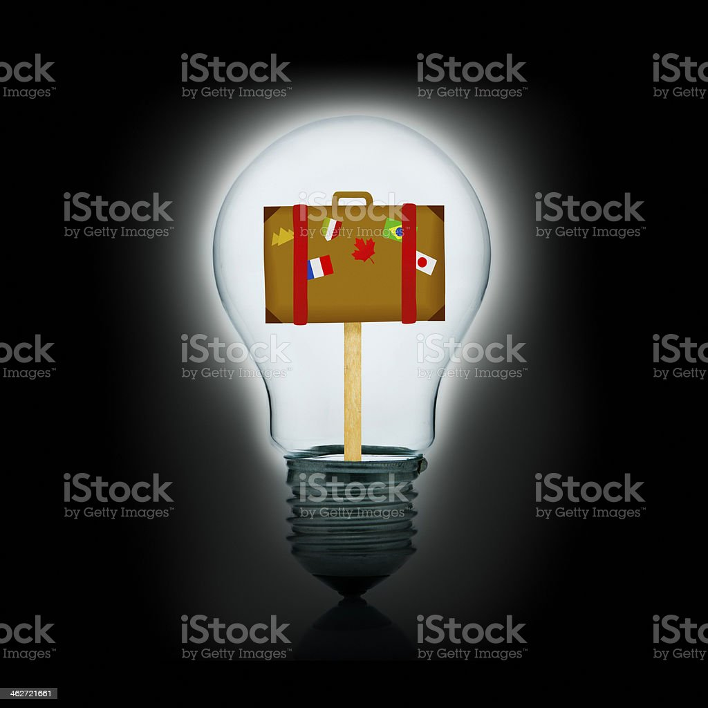Ideas for great holidays stock photo