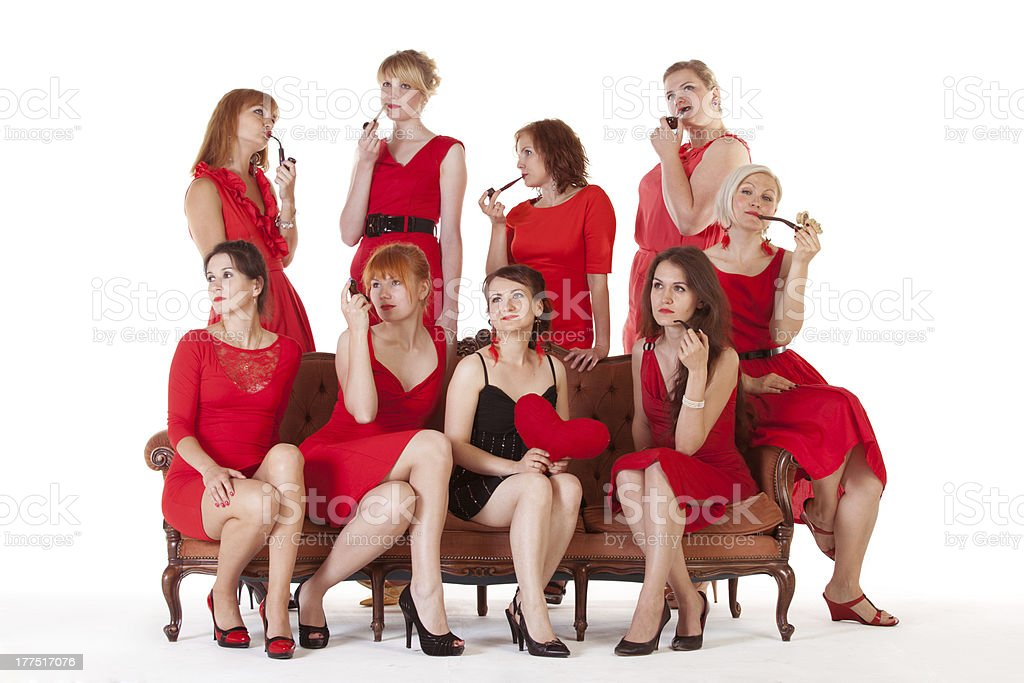 Ideas for hen party royalty-free stock photo