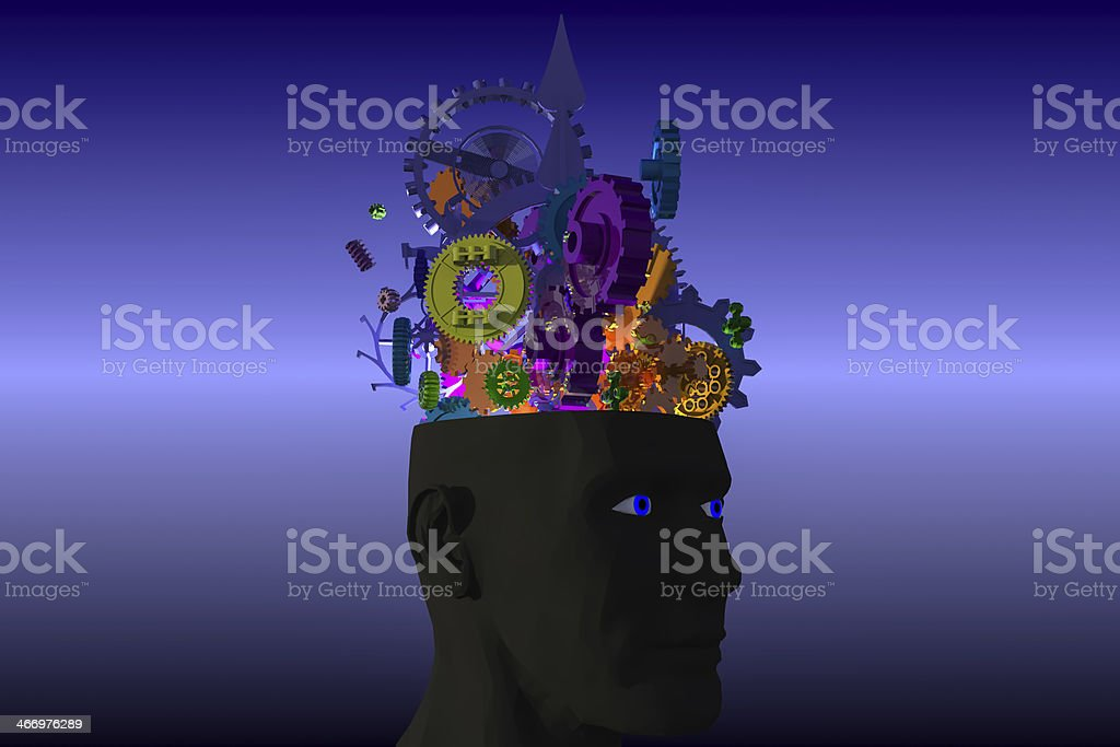 ideas in motion stock photo