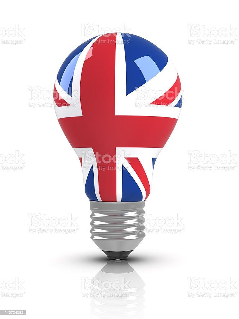 ideas - UK (Isolated) royalty-free stock photo
