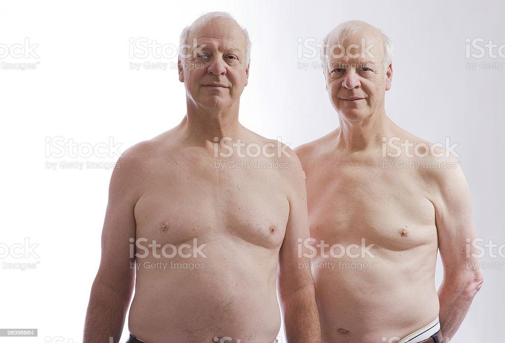 Gemelli identici foto stock royalty-free