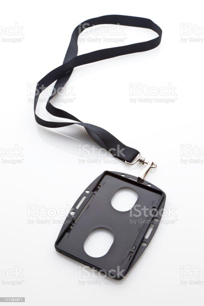 Identification Badge stock photo