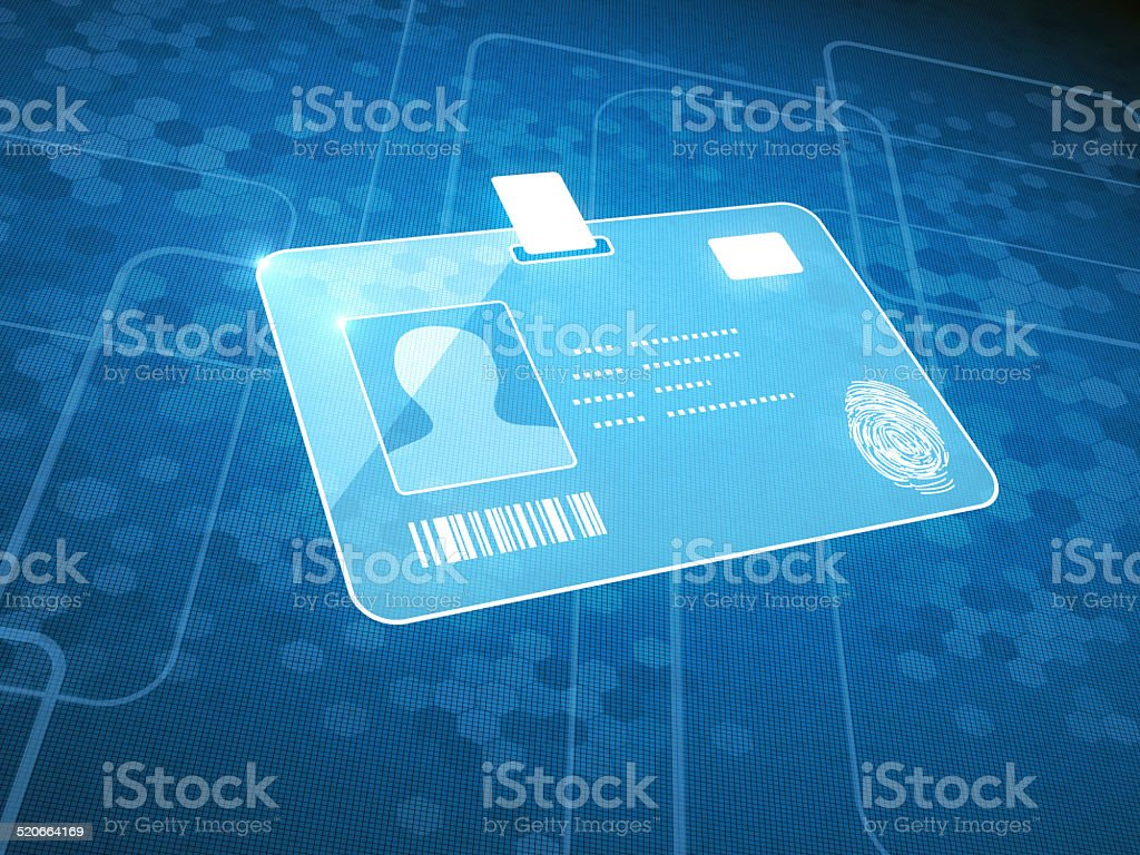 Identification stock photo