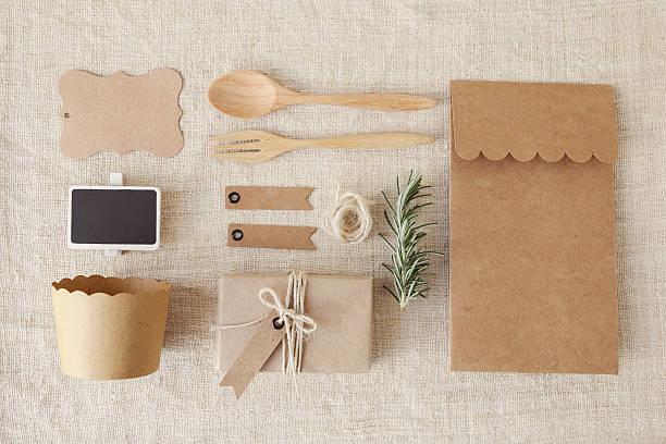identity branding mockup set. eco concept - écologiste rôle social photos et images de collection