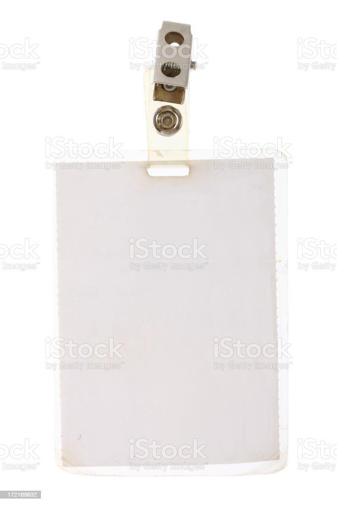 Identity Card stock photo