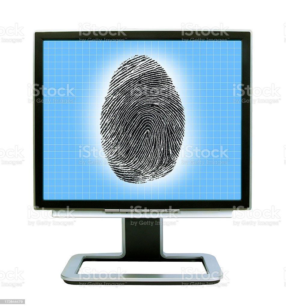 Identity Check royalty-free stock photo