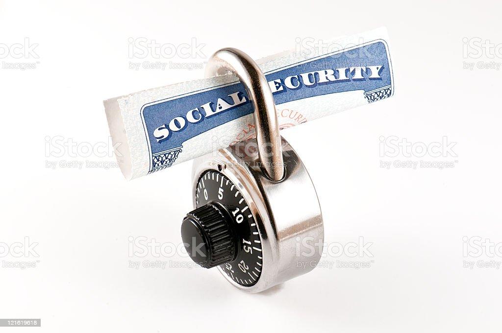 Identity security stock photo