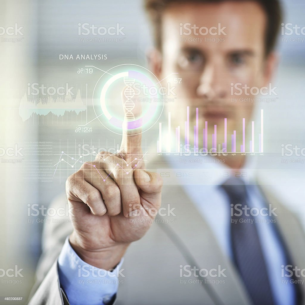 Identity theft: Impossible in the modern age stock photo
