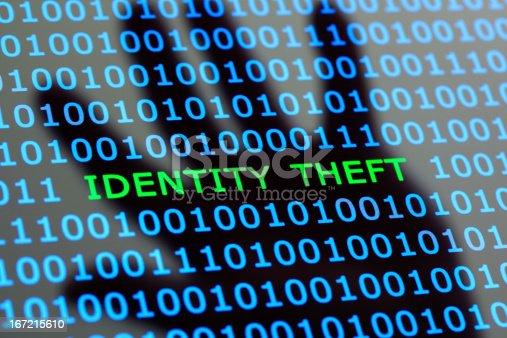 istock Identity theft online 167215610