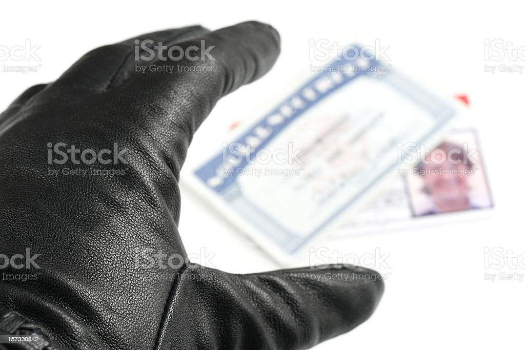 Identity Theft stock photo