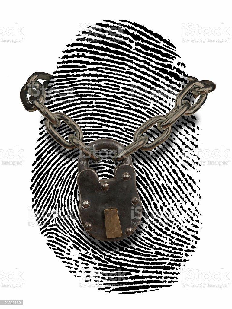 identity theft protection royalty-free stock photo