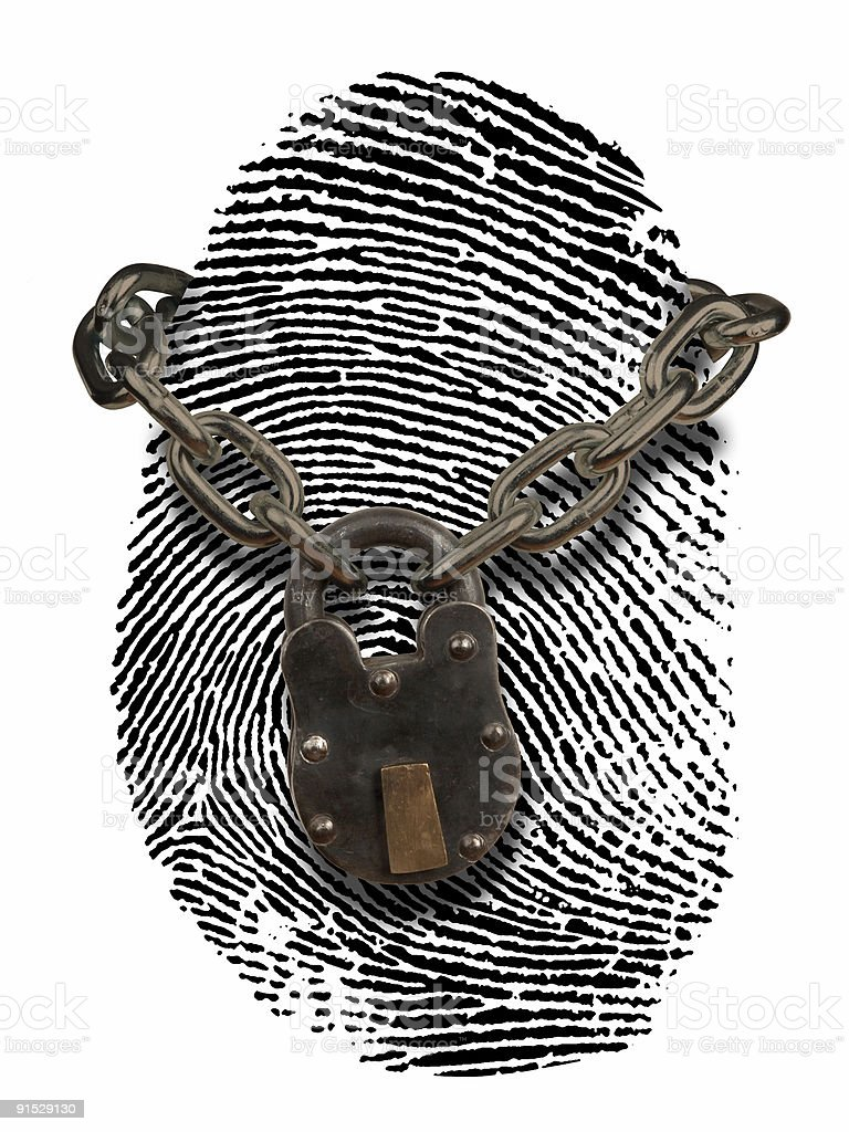 identity theft protection stock photo
