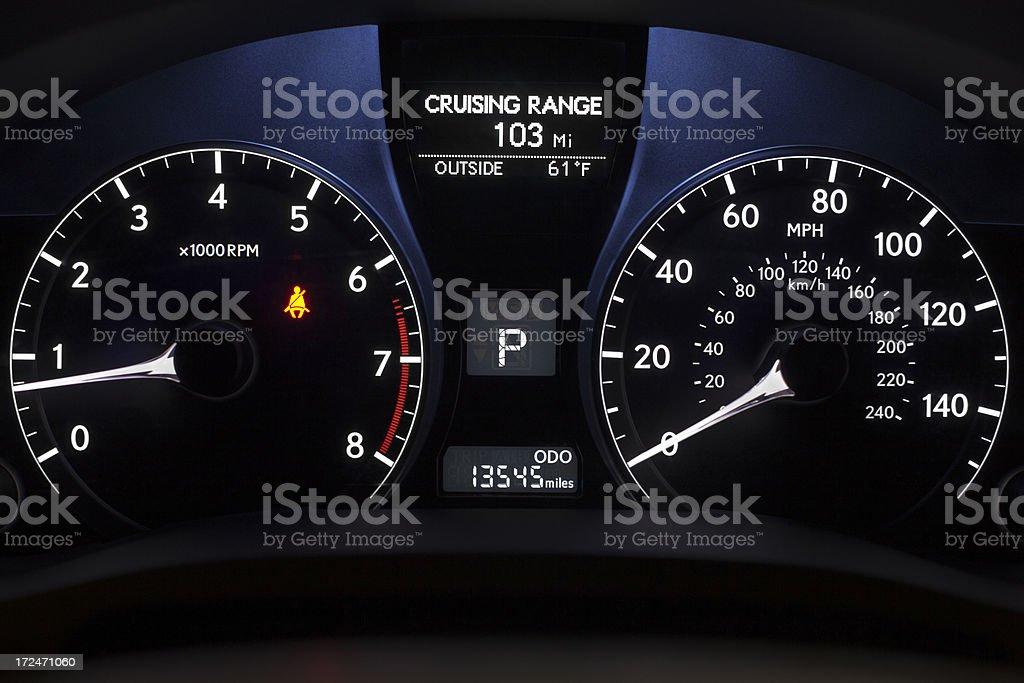 Idle Car stock photo