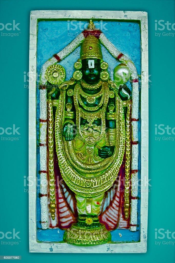 Idol of Lord Venkateswara, Tirupati Balaji foto de stock royalty-free