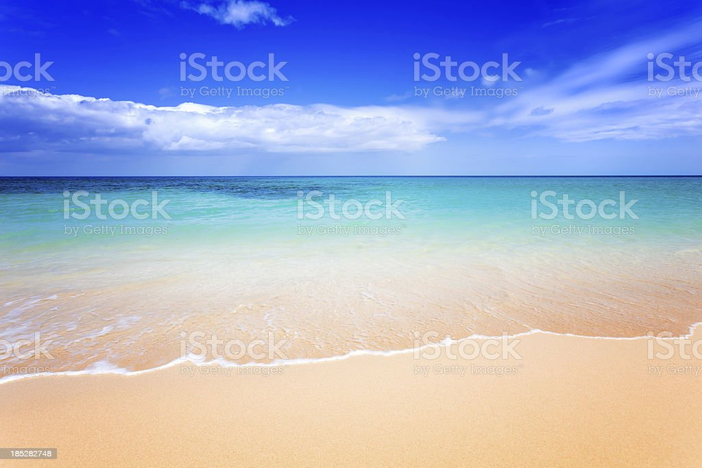 Idylic Beach stock photo