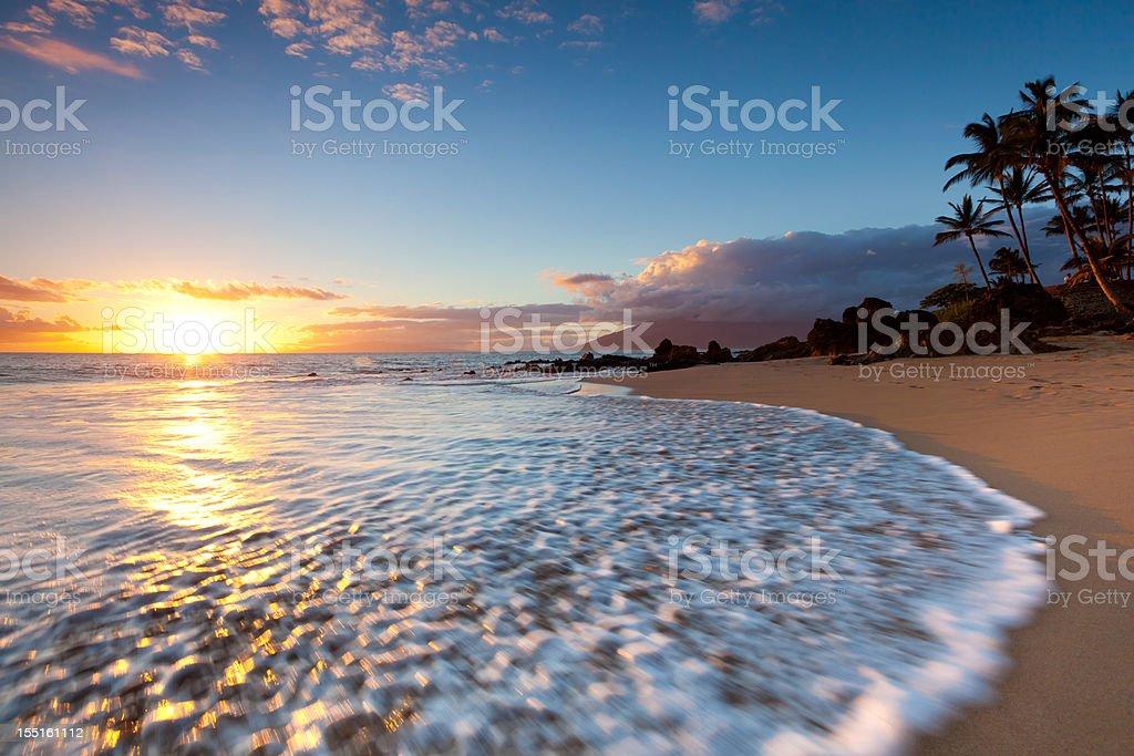Idyllische Küste-maui hawaii, kihei – Foto