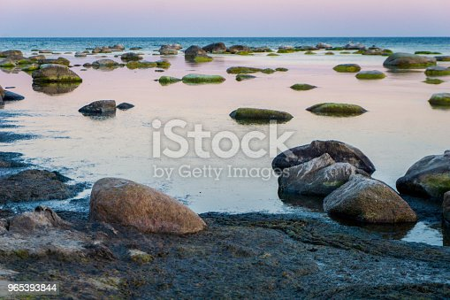 Idyllic Baltic Sea With Rocks In Bornholm Denmark On A Day In Summer Stock Photo & More Pictures of Backgrounds