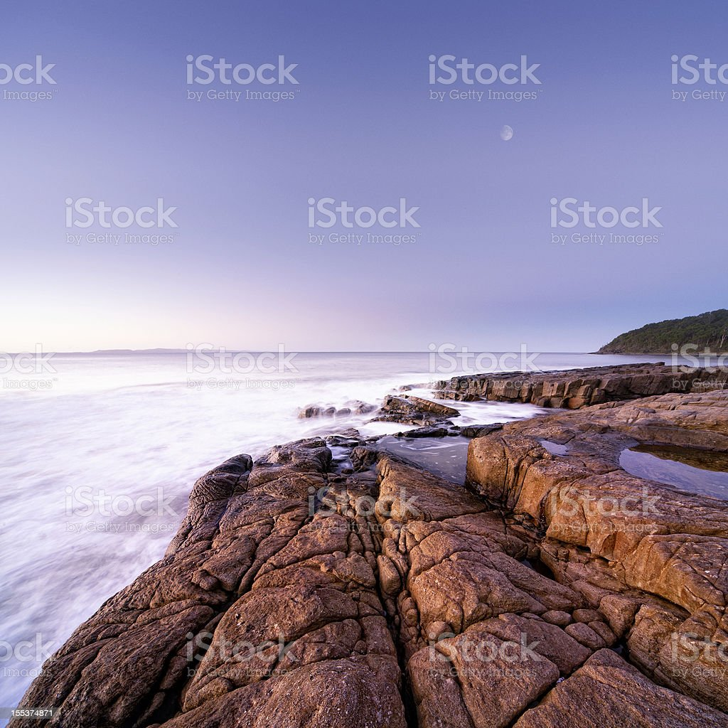 Idyllic Coastline royalty-free stock photo