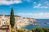 Idyllic Costa Brava seaside town in Girona Province, Catalonia