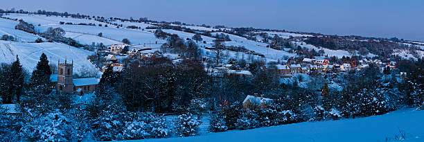 England Christmas Snow.Cotswold England Christmas Snow Stock Photos Pictures