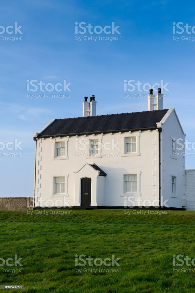 Idyllic Countryside House royalty-free stock photo