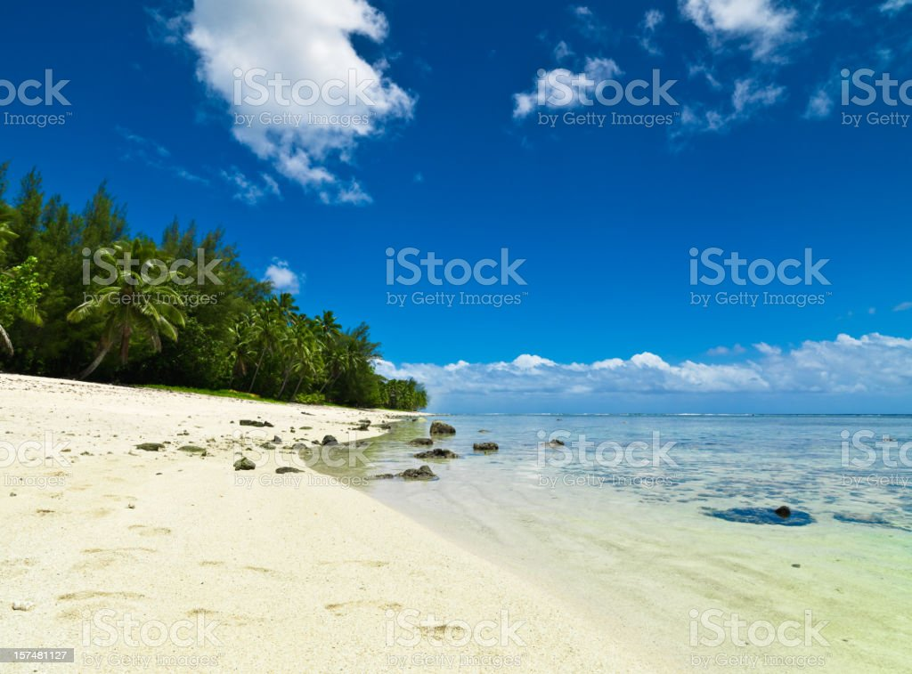 Idyllic Dream Beach royalty-free stock photo