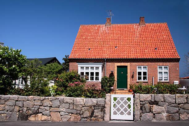 Idyllische Familie Haus auf Bornholm – Foto
