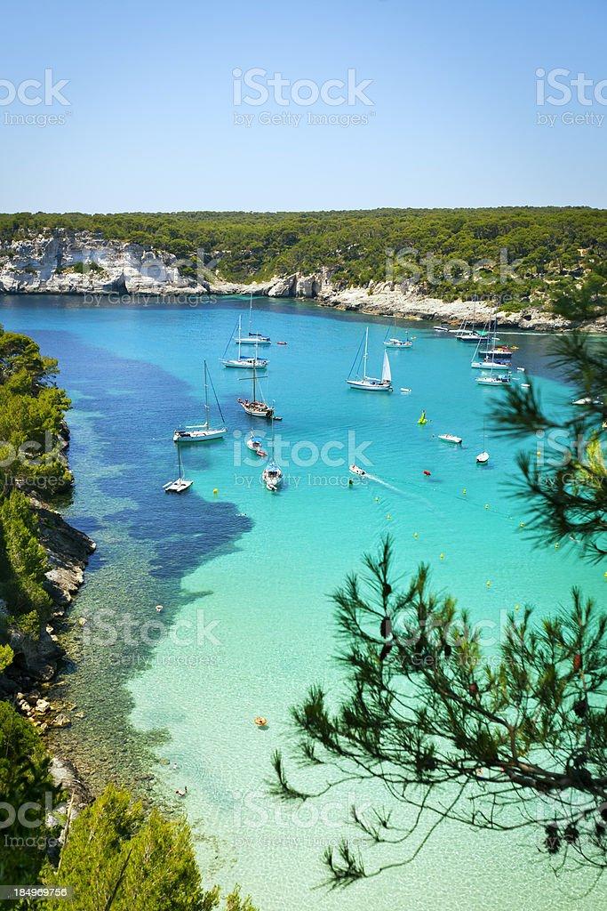 Idyllischen Urlaub in Menorca – Foto