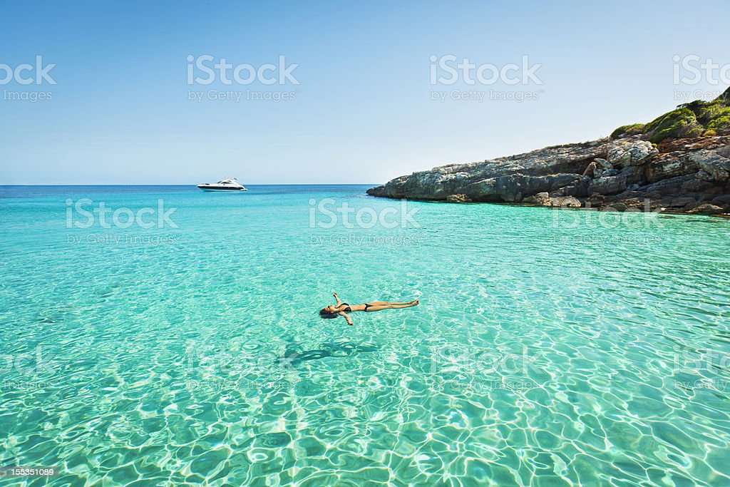 Idyllic holidays stock photo