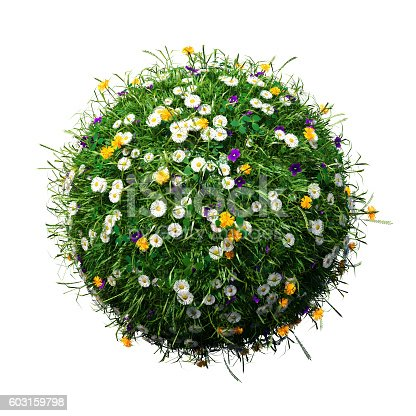 483959606 istock photo idyllic hovering spherical meadow 603159798