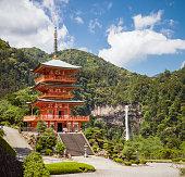 Idyllic Japan - Sanjūdō Pagoda, Kumano Nachi Taisha