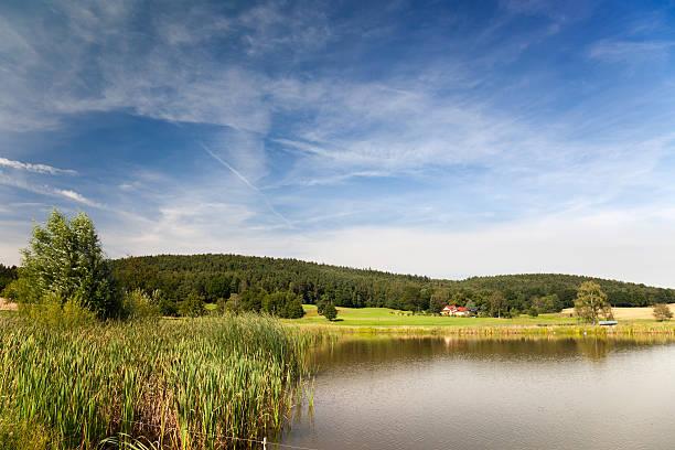 Idyllischen See lake – Foto