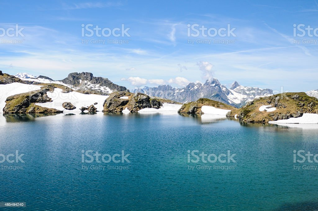 Idyllic Lake - Switzerland stock photo